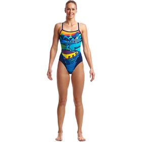 Funkita Single Strap One Piece Swimsuit Women, allez allez